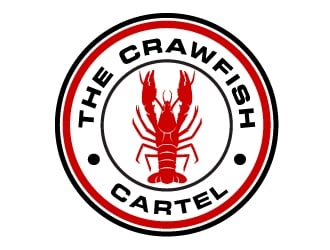 The Crawfish Cartel  logo design