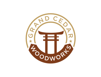 Grand Cedar Woodworks logo design