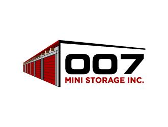 007 Mini Storage Inc. logo design