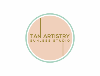 Tan Artistry | Sunless Studio logo design