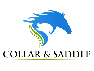 Collar and Saddle Logo Design