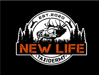 New Life Taxidermy logo design
