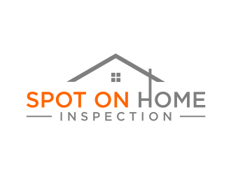 Spot On Home Inspection  logo design