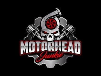 Motorhead Junkie logo design