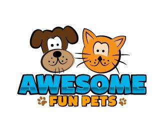 Awesome Fun Pets logo design by AamirKhan