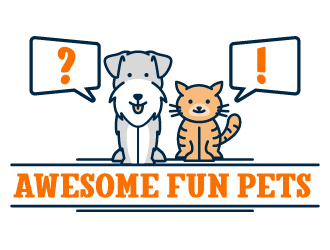 Awesome Fun Pets logo design by fries
