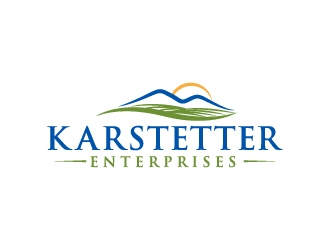 Karstetter Enterprises logo design
