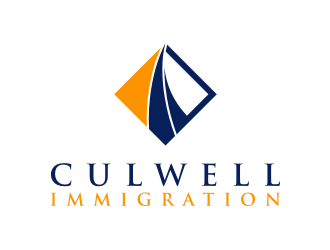 Culwell Immigration logo design