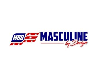 Masculine By Design logo design winner