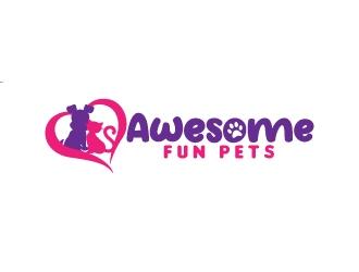 Awesome Fun Pets logo design by jaize