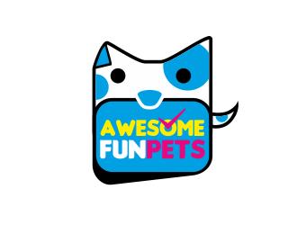 Awesome Fun Pets logo design by serprimero