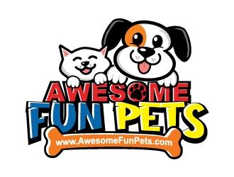 Awesome Fun Pets logo design by ruki