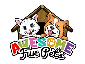 Awesome Fun Pets logo design by ingepro