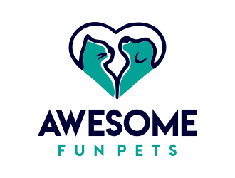 Awesome Fun Pets logo design by JessicaLopes
