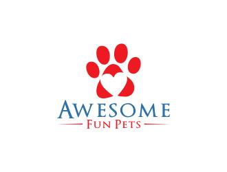 Awesome Fun Pets logo design by bismillah