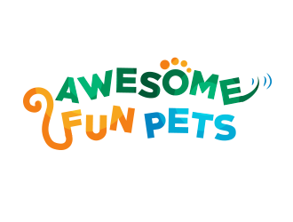 Awesome Fun Pets logo design by BeDesign
