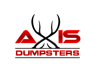 Axis Dumpsters  logo design