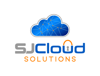 SJ Cloud Solutions logo design
