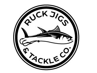 MK Jigs & Tackle Co.  logo design