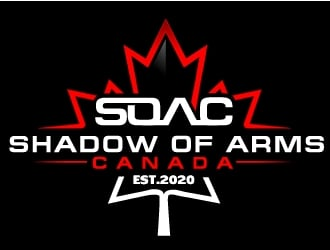 Shadow of Arms Canada logo design