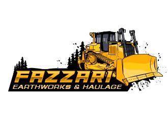 Fazzari Earthworks & Haulage logo design