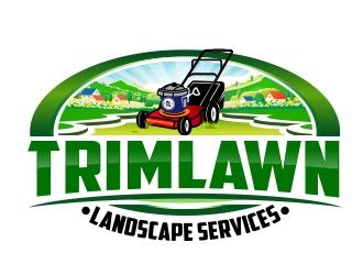 Trimlawn Landscape Services Logo Design 48hourslogo