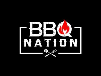 BBQ Nation logo design