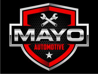 MAYO AUTOMOTIVE  logo design