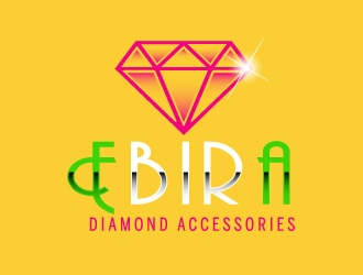 Ebira Diamond Accessories logo design