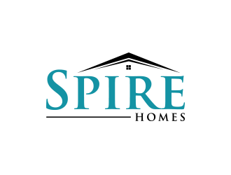 Spire Homes logo design