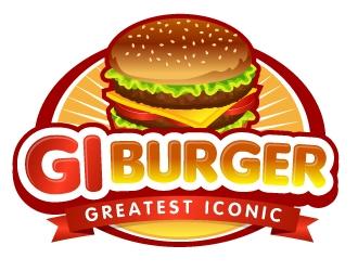 G.I. Burger logo design