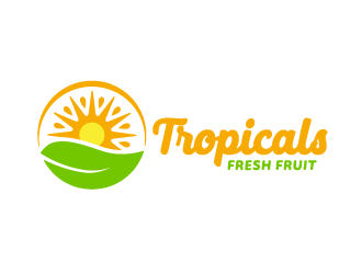 Tropicals logo design