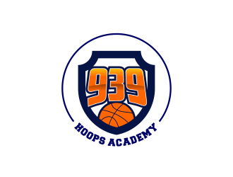 939 Hoops Academy logo design by ekitessar