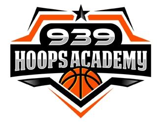 939 Hoops Academy logo design by MAXR