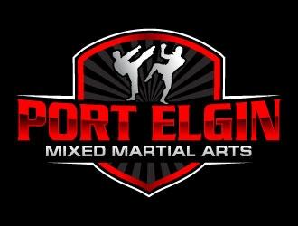 Port Elgin Mixed Martial Arts logo design by uttam