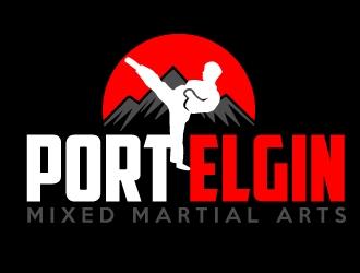 Port Elgin Mixed Martial Arts logo design by AamirKhan