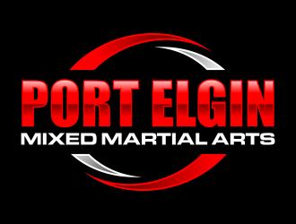 Port Elgin Mixed Martial Arts logo design by ingepro