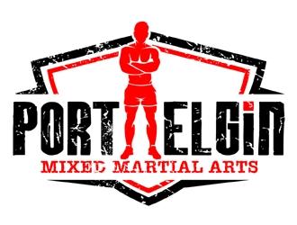 Port Elgin Mixed Martial Arts logo design by MAXR