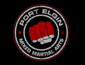 Port Elgin Mixed Martial Arts logo design by jaize