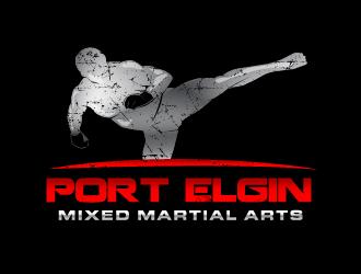 Port Elgin Mixed Martial Arts logo design by PRN123