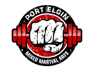 Port Elgin Mixed Martial Arts Logo Design