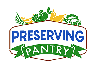 Preserving Pantry logo design
