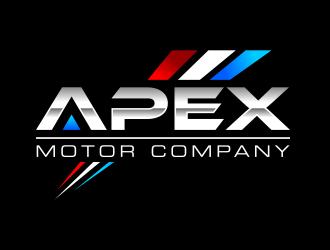 Apex Motor Company logo design