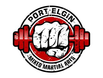 Port Elgin Mixed Martial Arts logo design by cintoko