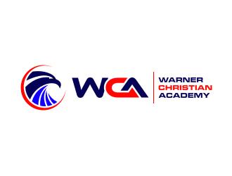 Warner Christian Academy logo design