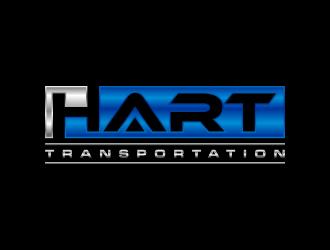 Hart Transportation  logo design