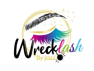 WRECKLASH by JAZZ logo design