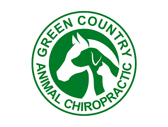 Green Country Animal Chiropractic logo design