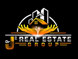 Dr J2 Real Estate Group logo design