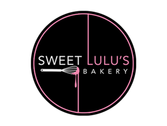Sweet Lulus Bakery  logo design